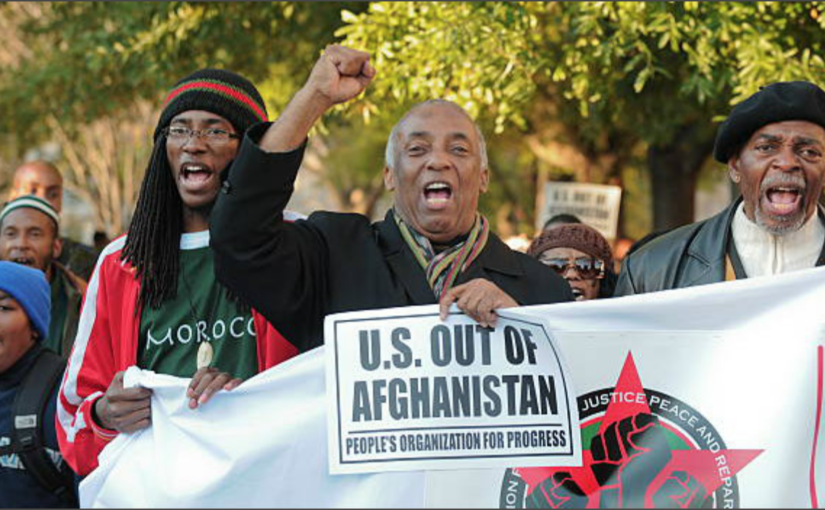 The Black Is Back Coalition to hold its annual march on the white house in November to protest U.S. military occupation in Africa!