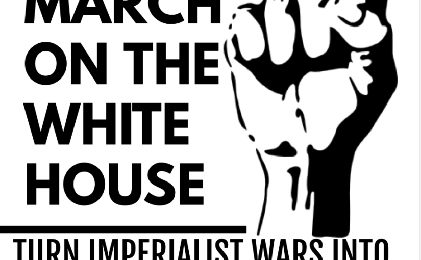 FRIDAY NOVEMBER 1ST BLACK PEOPLE'S MARCH ON WHITE HOUSE PRE RALLY RALLY!
