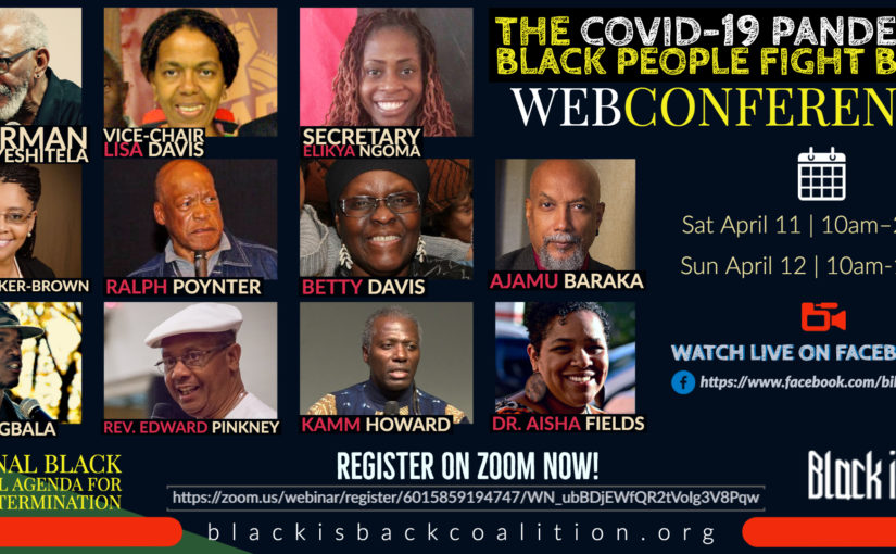 COVID-19 Pandemic: Black People Fight Back! Webinar –Day Two